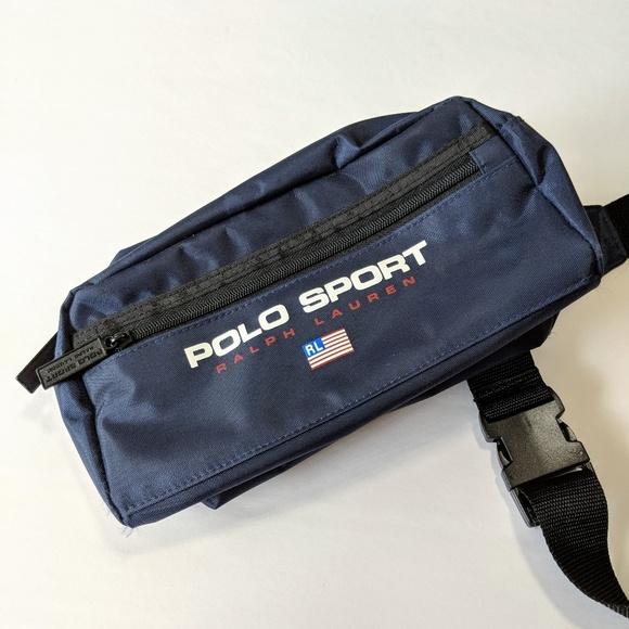 Polo Sport Ralph Lauren Vtg Fanny Pack Waist Bag. M 5b3e3053fe515169e4cc16ff 99c5bf9049780